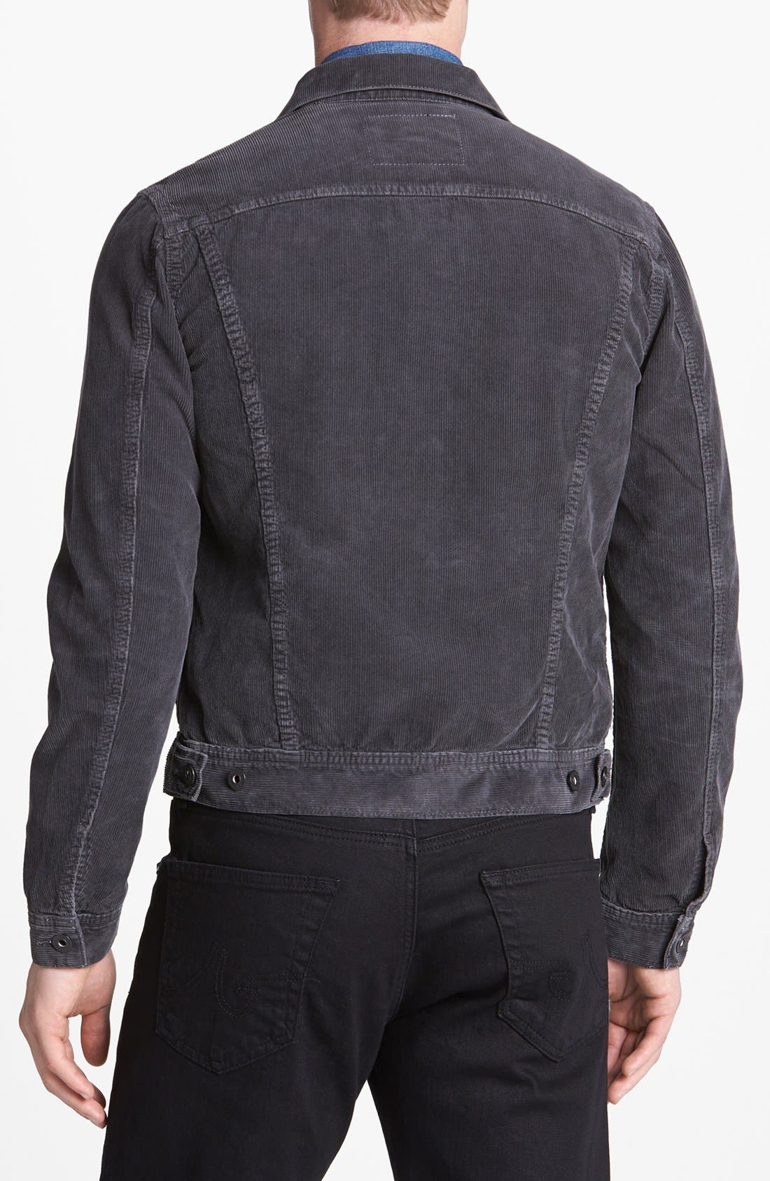 Alternate Image 2  - AG Jeans 'Jake' Slim Fit Corduroy Jacket