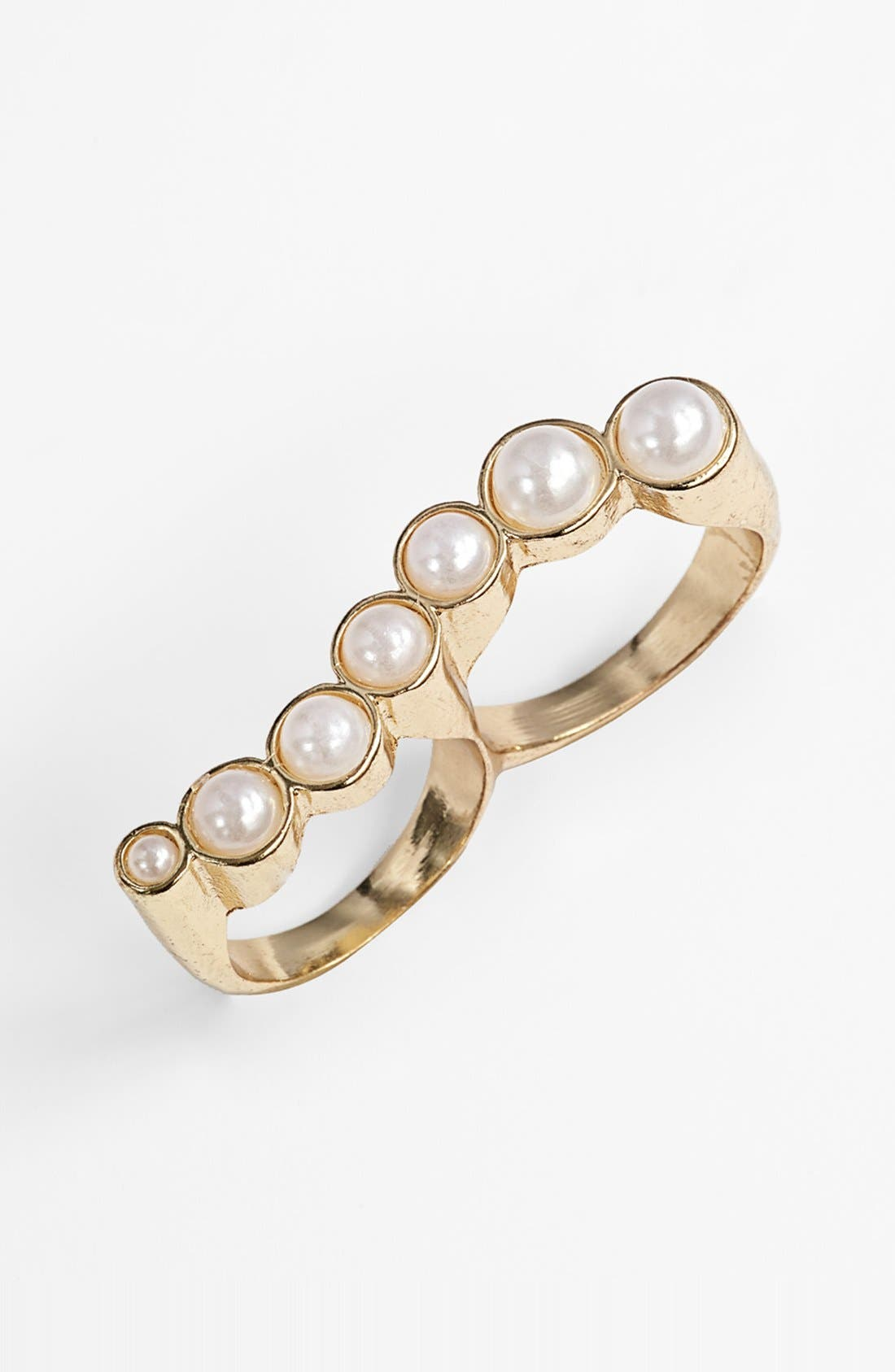 Main Image - Tildon 'Pearl Wave Armour' Ring