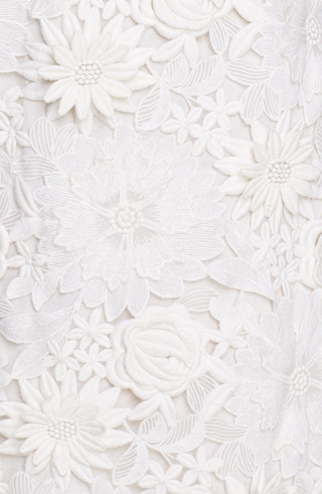 Alternate Image 3  - Tory Burch Guipure Lace Silk Sheath Dress