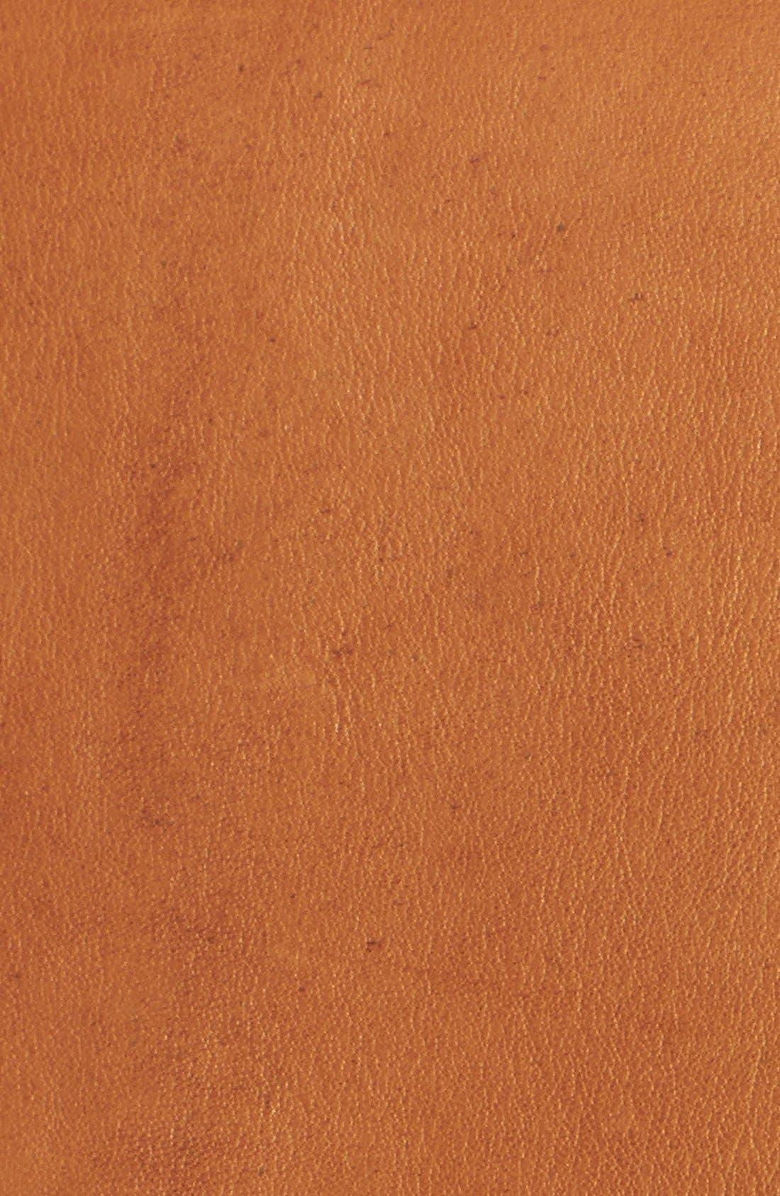 Alternate Image 3  - John Carlisle Leather Moto Jacket (Plus Size)