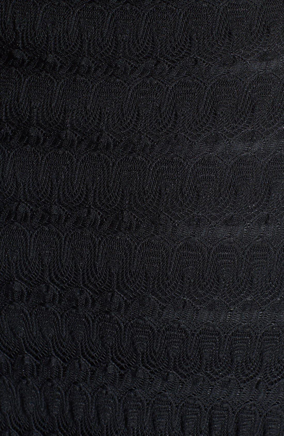 Alternate Image 3  - Sky 'Kosa' Crochet Lace Halter Maxi Dress