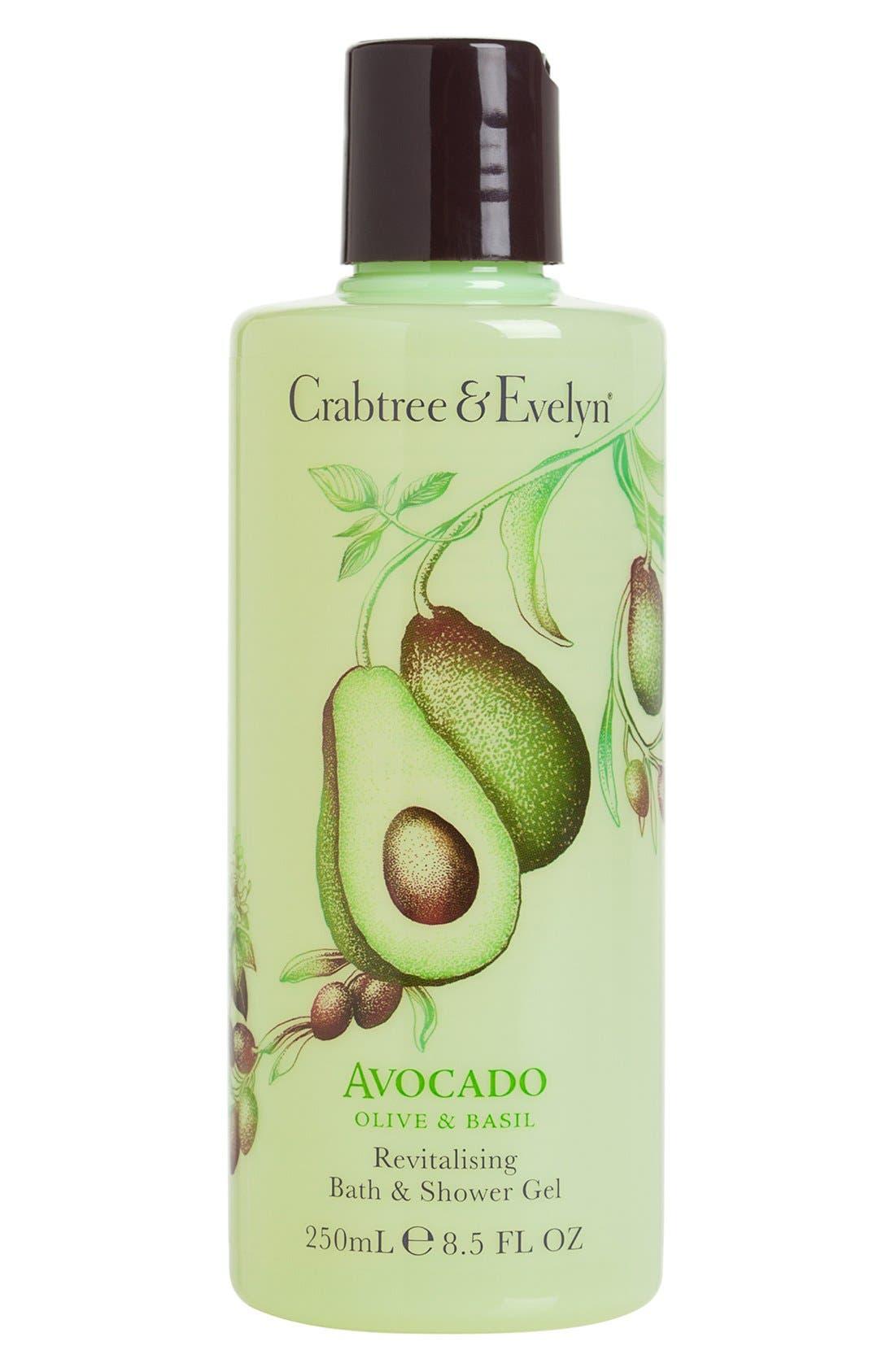 Crabtree & Evelyn 'Avocado, Olive & Basil' Bath & Shower Gel