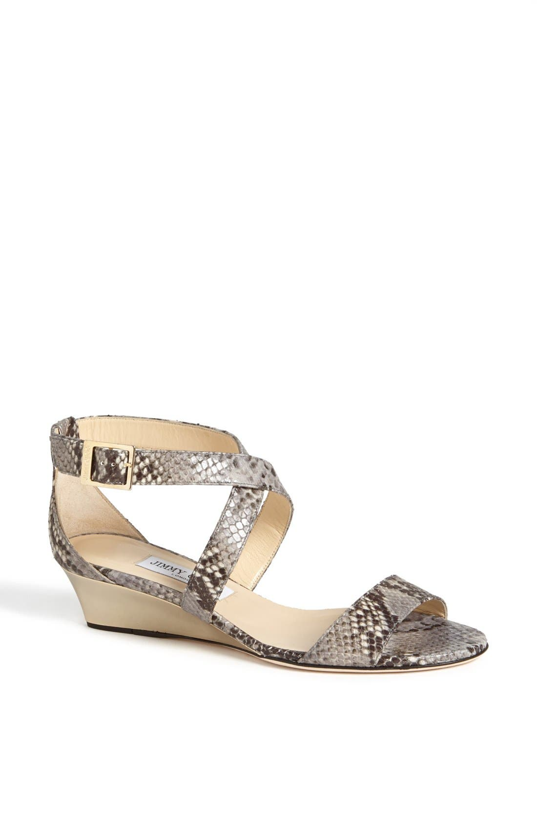 Alternate Image 1 Selected - Jimmy Choo 'Chiara' Wedge Sandal