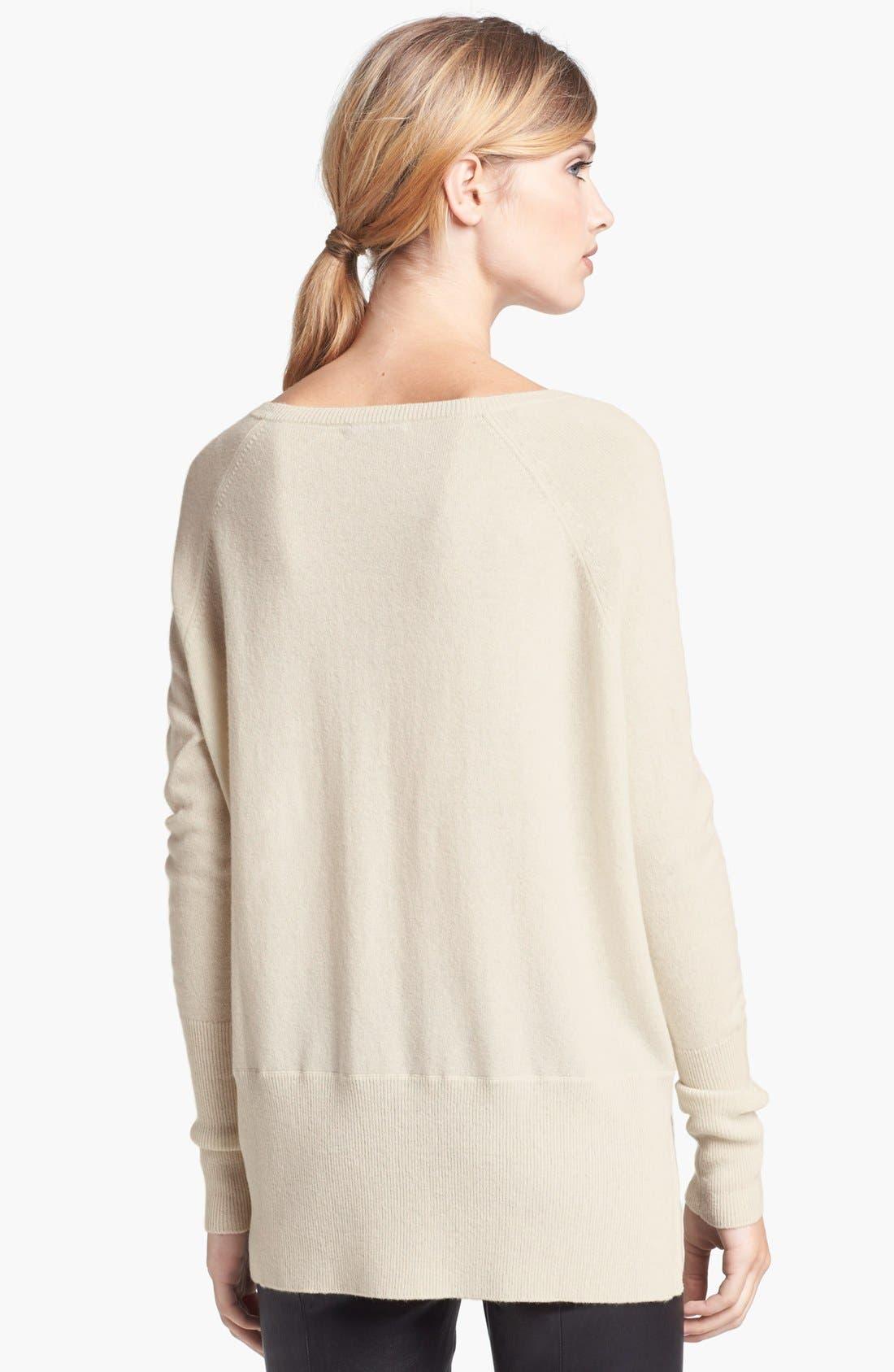 Alternate Image 2  - Vince 'Square' Raglan Cashmere Sweater