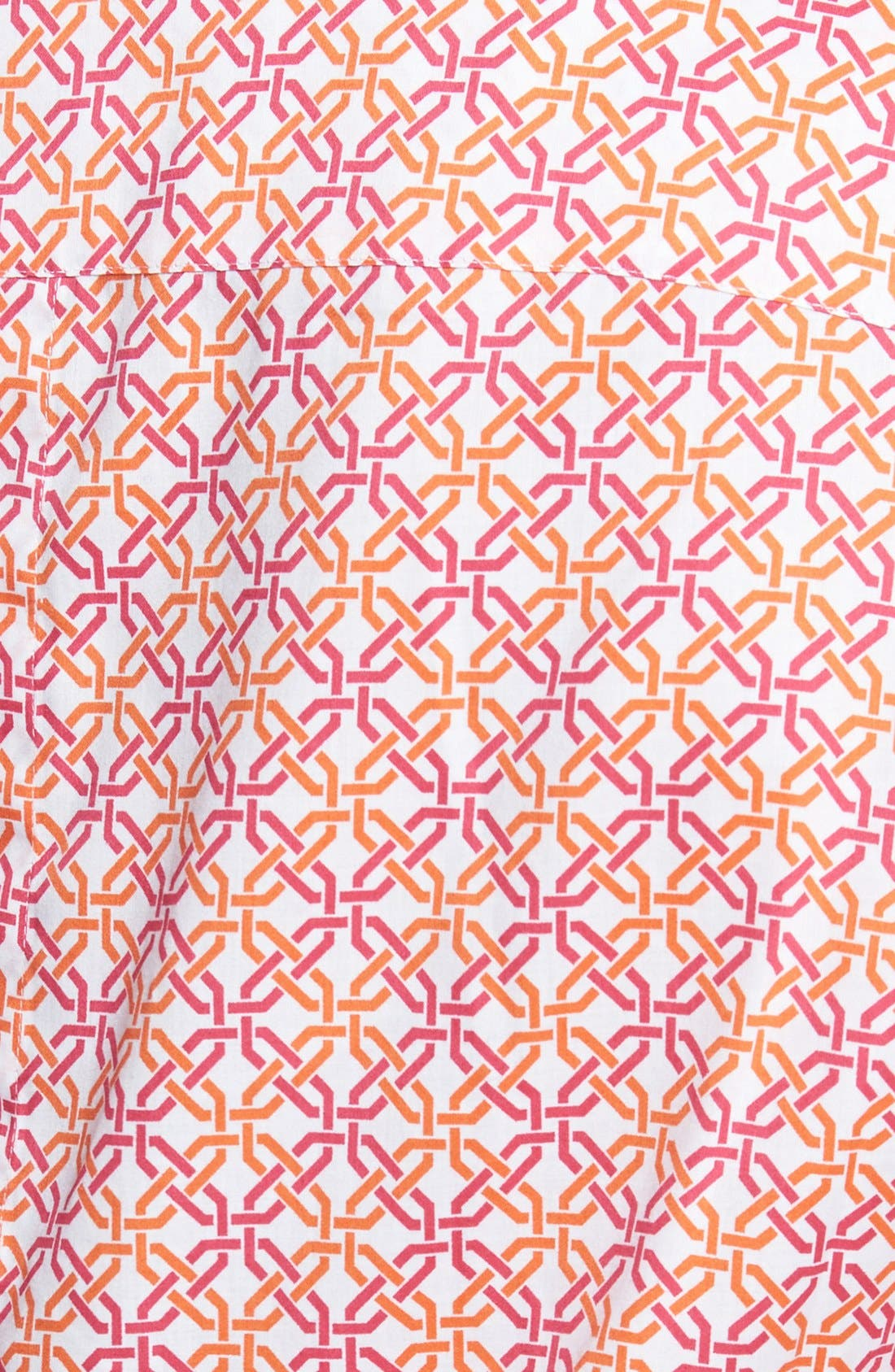 Alternate Image 3  - Foxcroft Lattice Print Shirt (Plus Size)