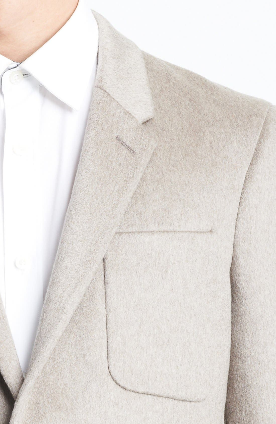 Alternate Image 2  - Burberry London 'Merridale' Extra Trim Fit Cashmere Sportcoat