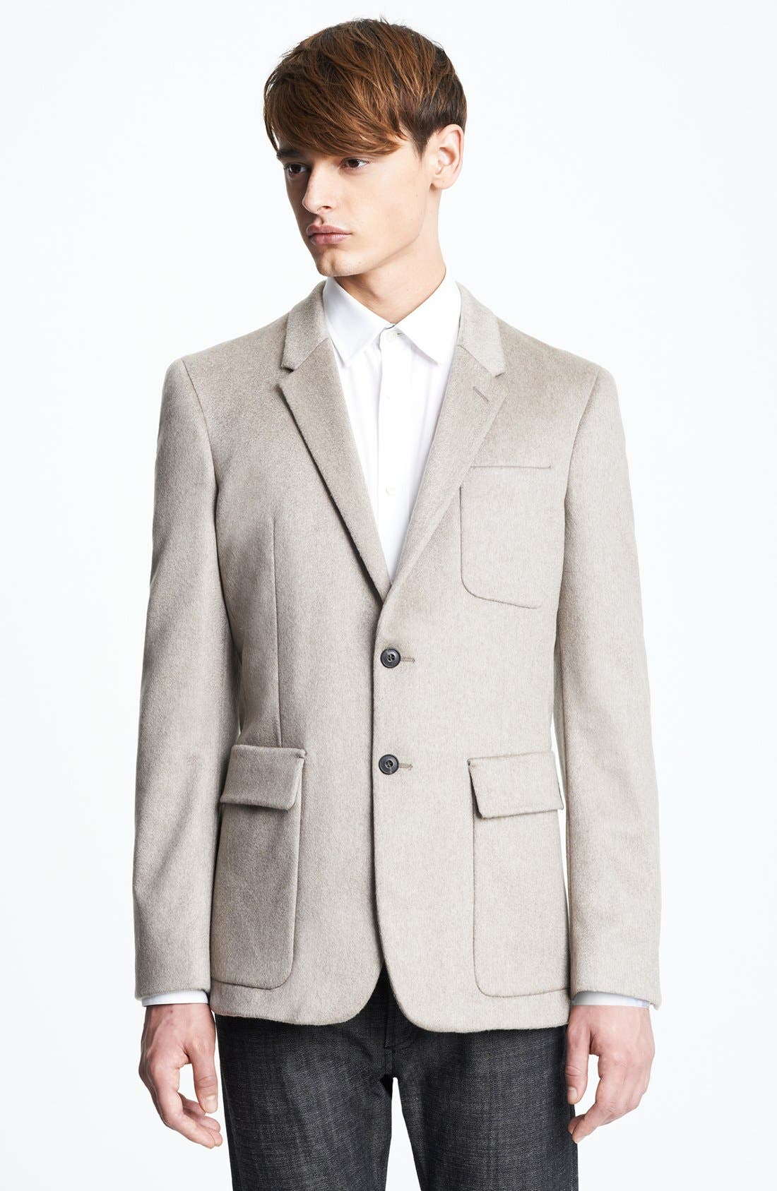 Alternate Image 1 Selected - Burberry London 'Merridale' Extra Trim Fit Cashmere Sportcoat