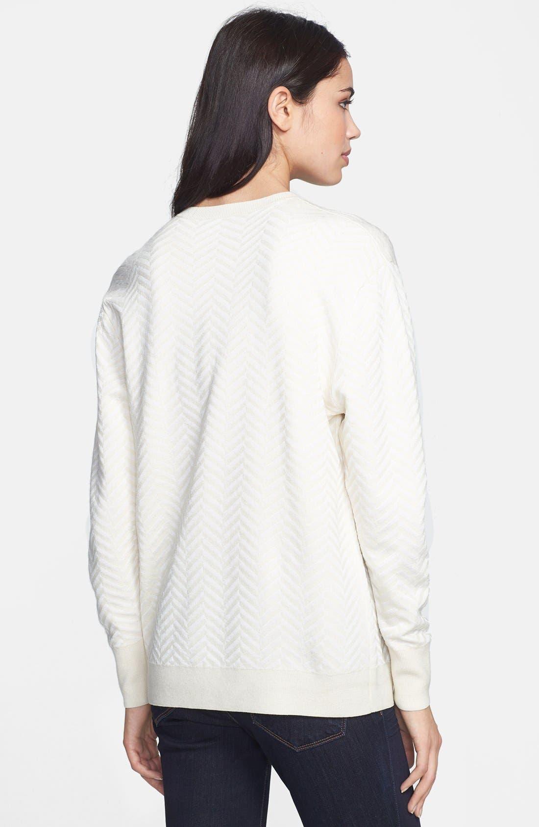 Alternate Image 2  - Theory 'Hannalor P.' Wool Blend Sweater