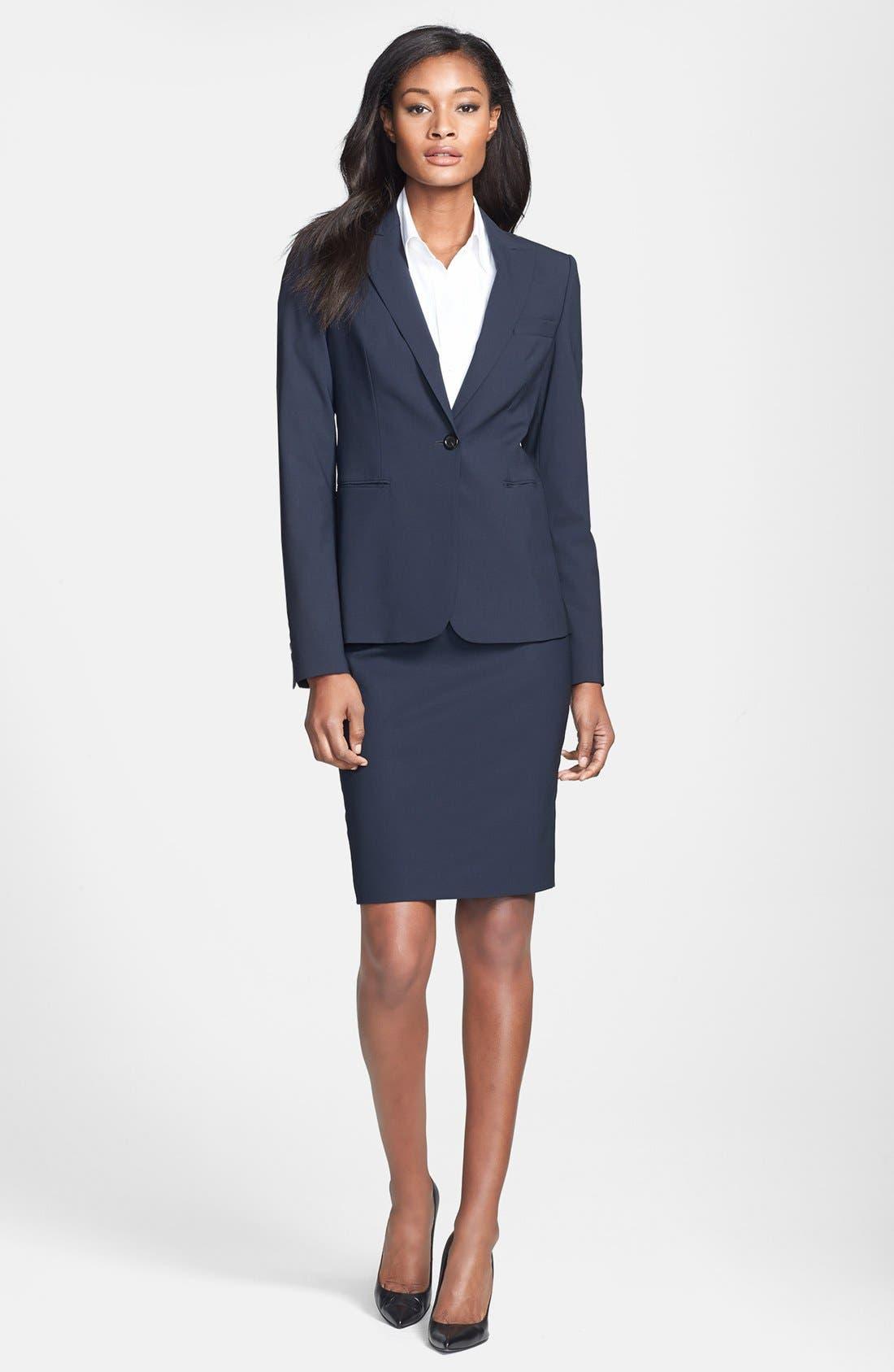 Alternate Image 4  - BOSS 'Vilina1' Skirt