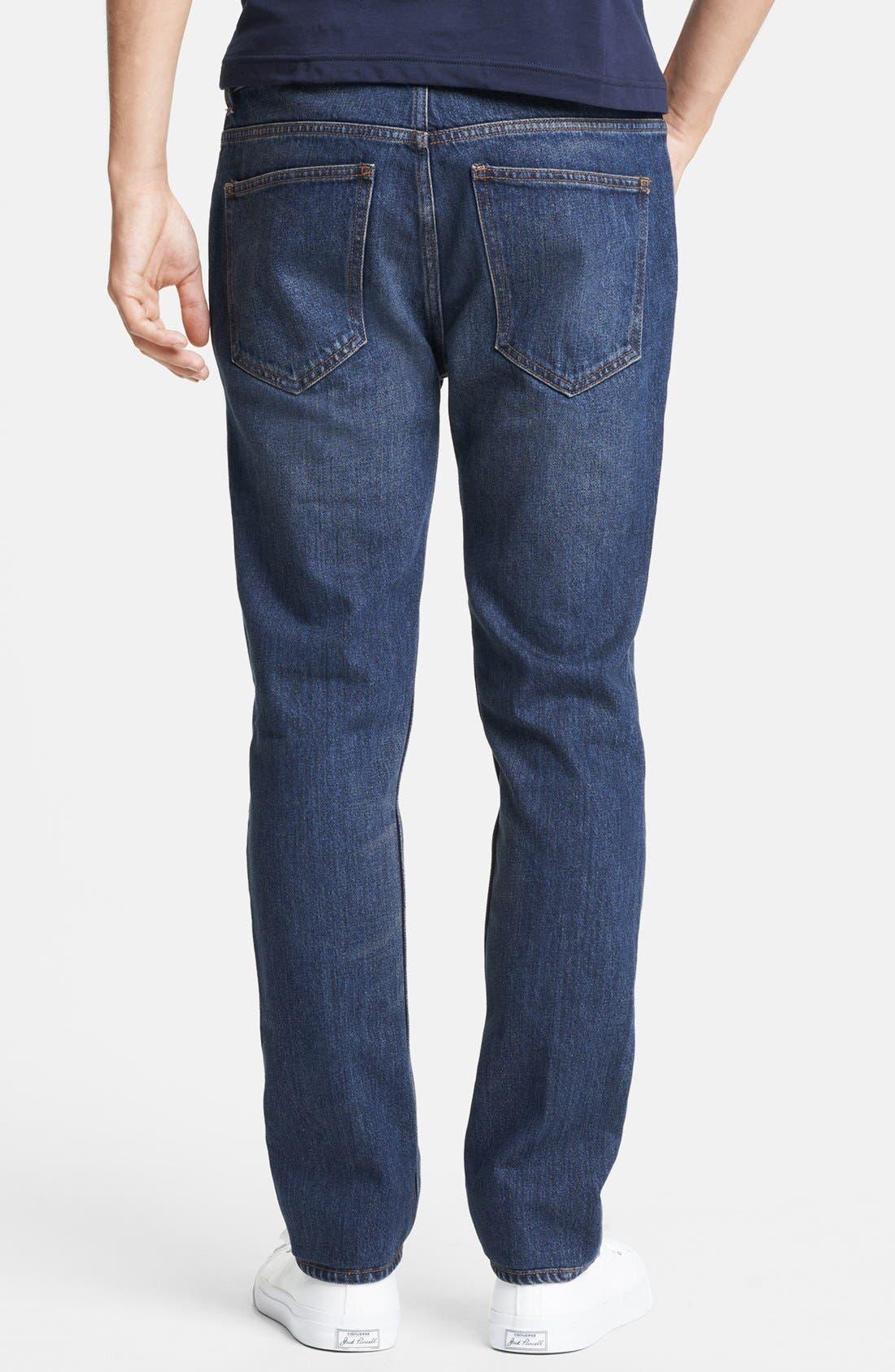 Alternate Image 2  - BLK DNM 'Jeans 9' Straight Leg Jeans (Duane Blue)