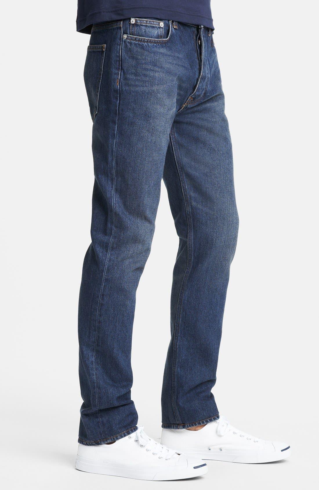 Alternate Image 3  - BLK DNM 'Jeans 9' Straight Leg Jeans (Duane Blue)