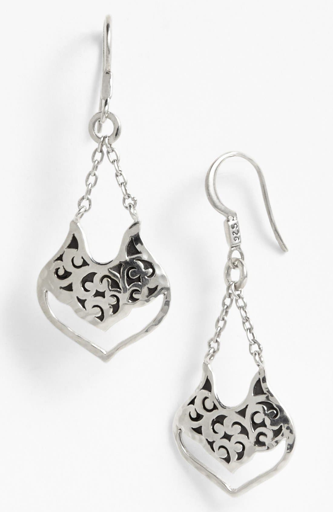 Main Image - Lois Hill Small Open Drop Earrings