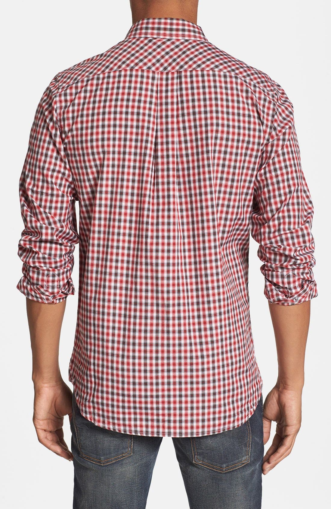 Alternate Image 3  - Quiksilver Waterman 'Tight Lines' Check Shirt