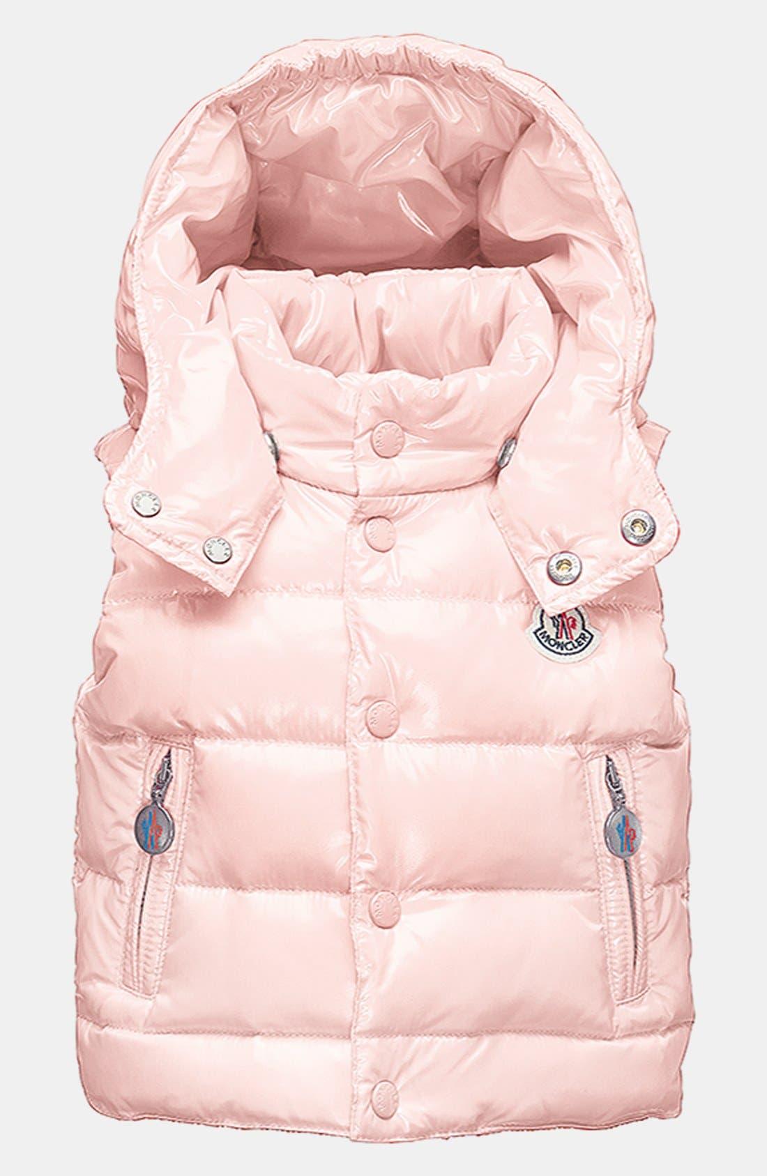 Alternate Image 1 Selected - Moncler 'Theo' Vest (Toddler Girls)