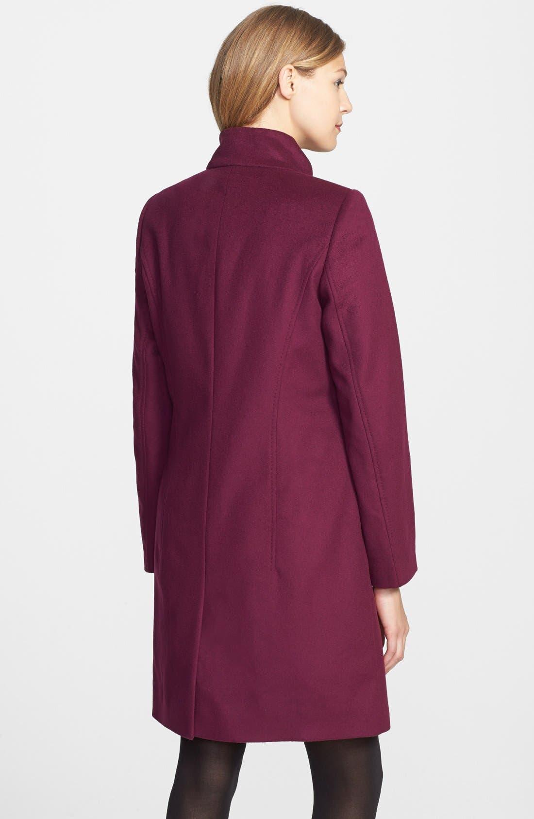 Alternate Image 2  - BOSS HUGO BOSS 'Celirela' Stand Collar Coat