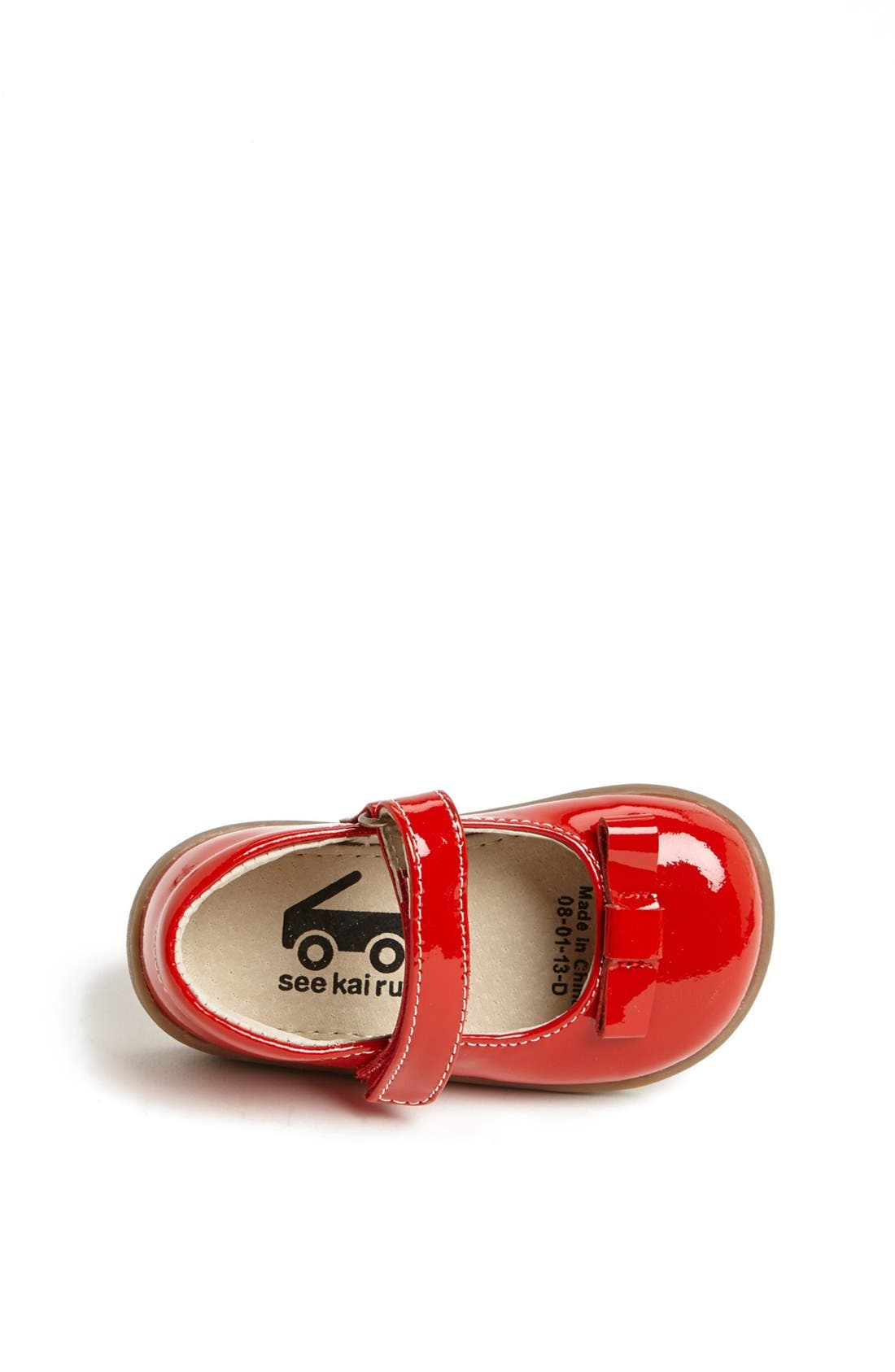 Alternate Image 4  - See Kai Run 'Camille' Mary Jane (Baby, Walker & Toddler)