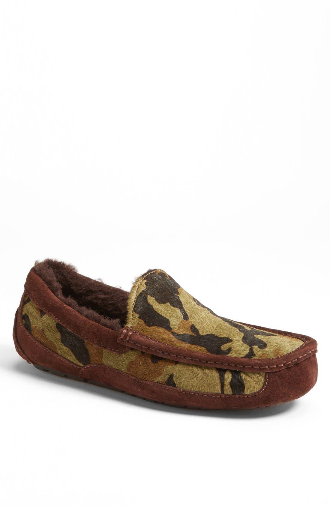ugg mens ascot camo slippers
