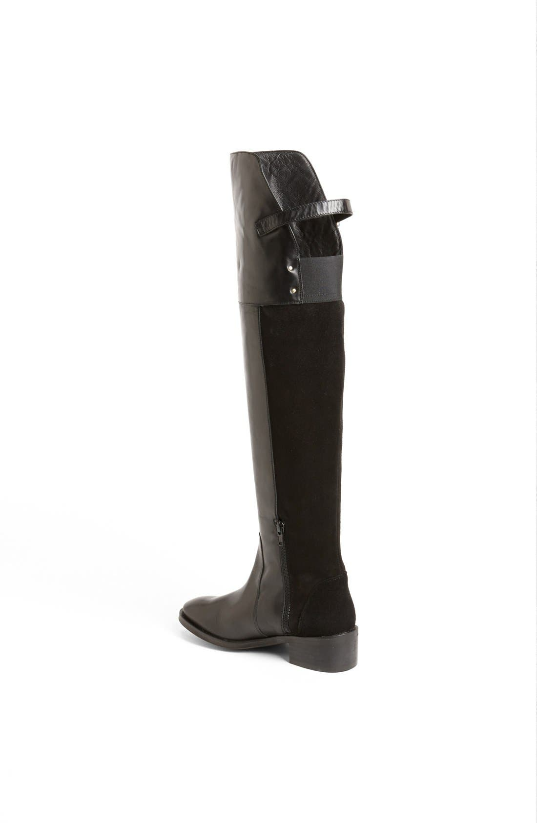 Alternate Image 2  - Topshop 'Destiny Mix' Over the Knee Boot