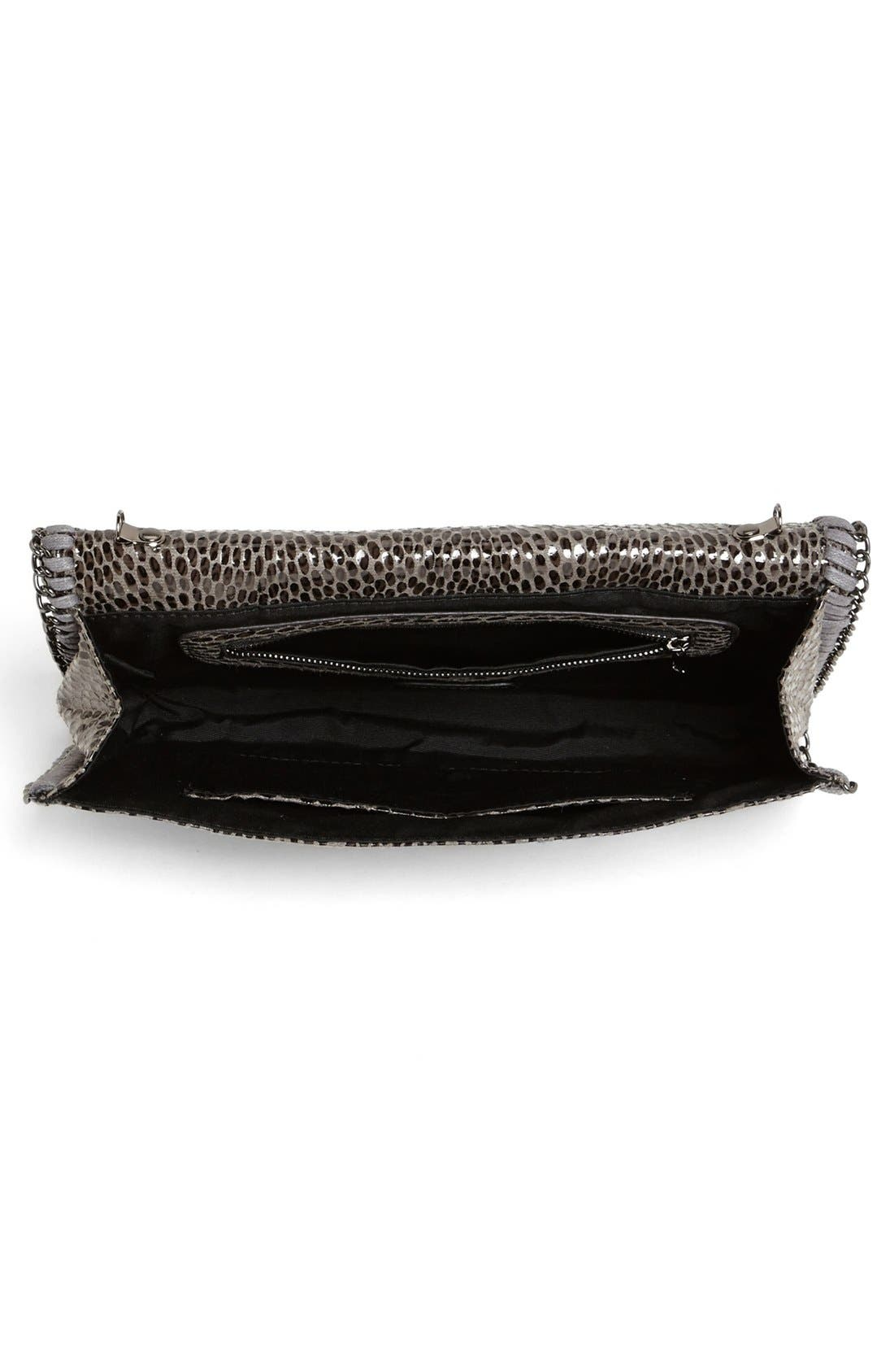 Alternate Image 3  - Tarnish Snake Chain Crossbody Clutch