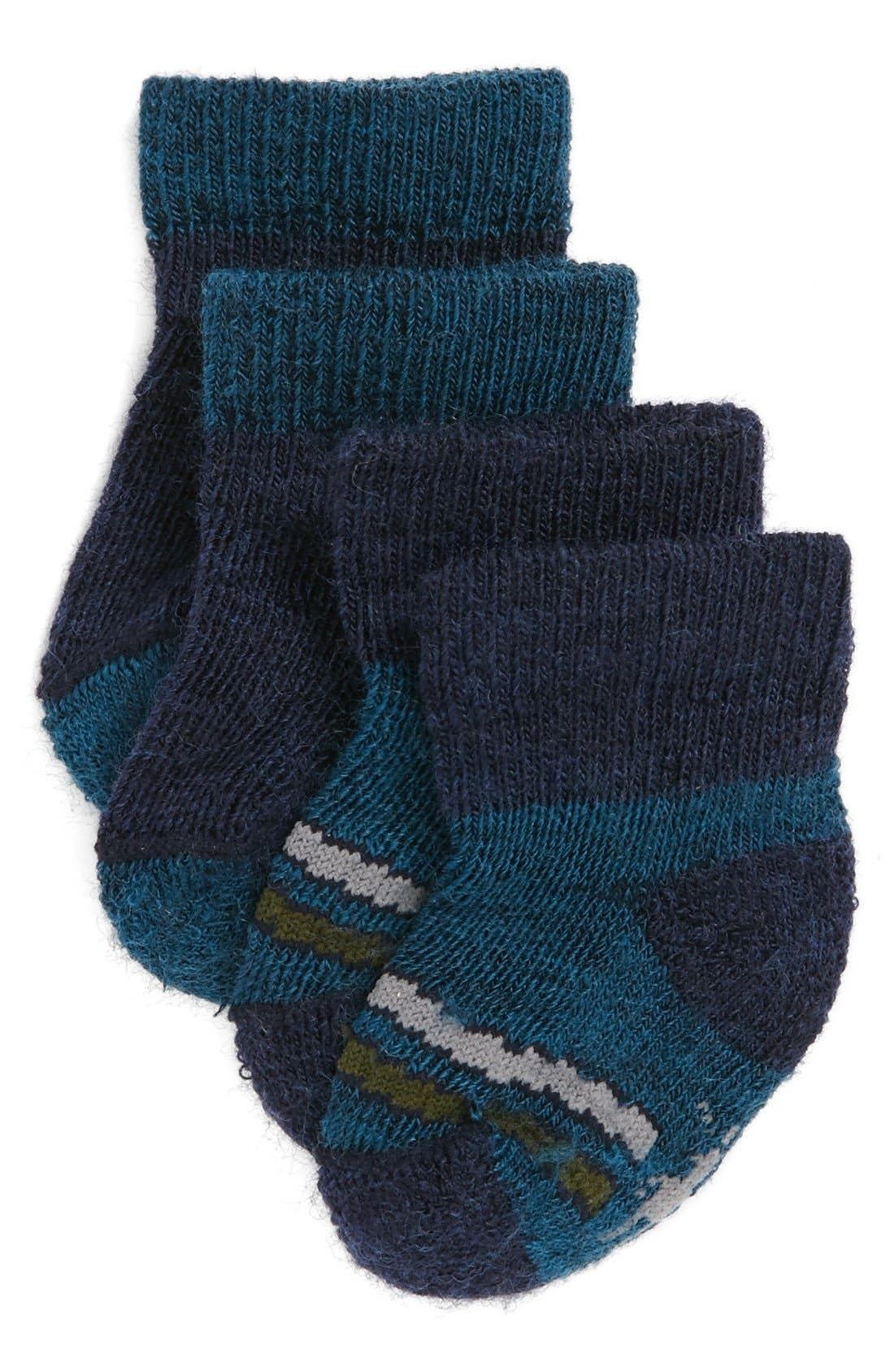 Main Image - Smartwool Booties (2-Pack) (Baby)