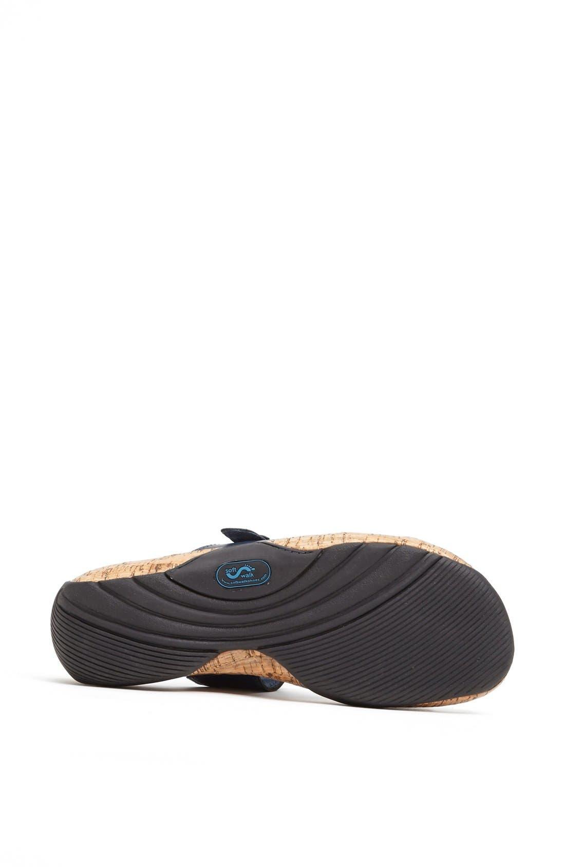 Alternate Image 4  - SoftWalk® 'Bermuda' Sandal