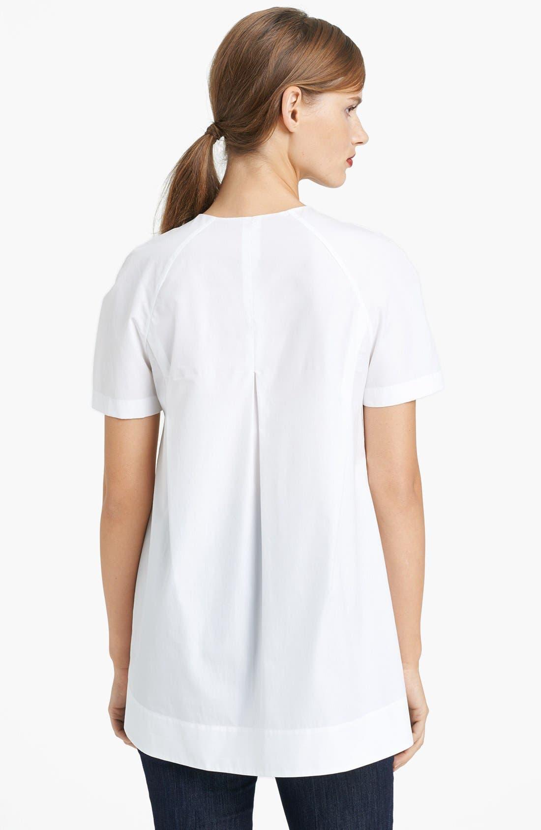 Alternate Image 2  - Lida Baday Short Sleeve Woven Tunic