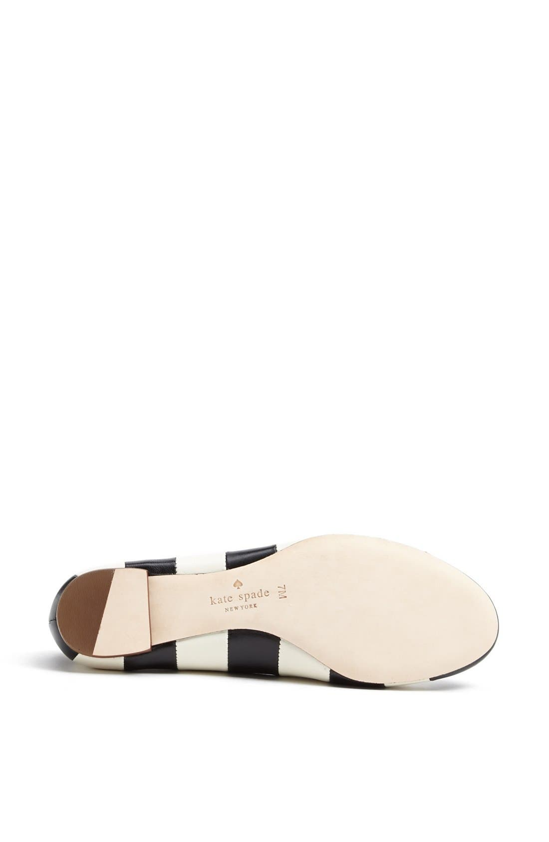 Alternate Image 4  - kate spade new york 'tanya' flat