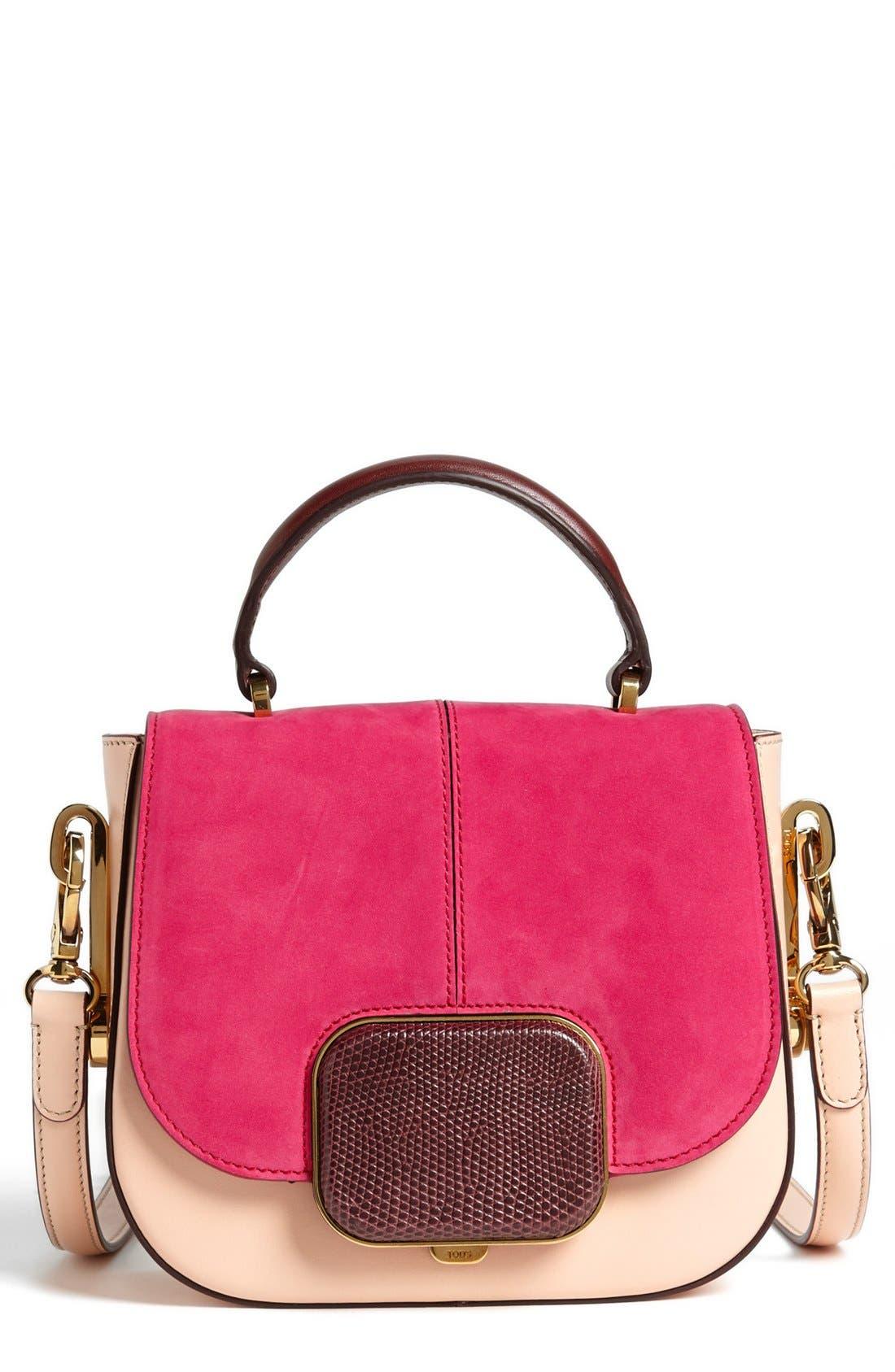 Alternate Image 1 Selected - Tod's 'Racing Bandoliera - Mini' Crossbody Bag