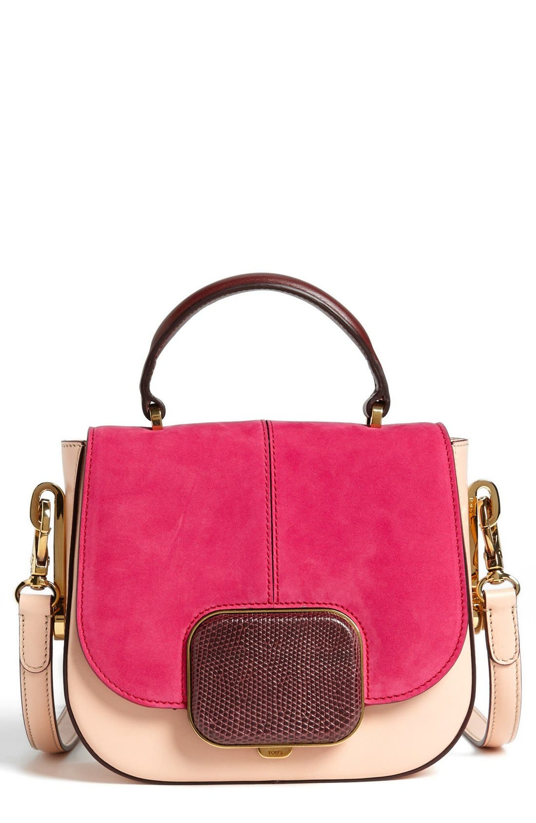 Main Image - Tod's 'Racing Bandoliera - Mini' Crossbody Bag