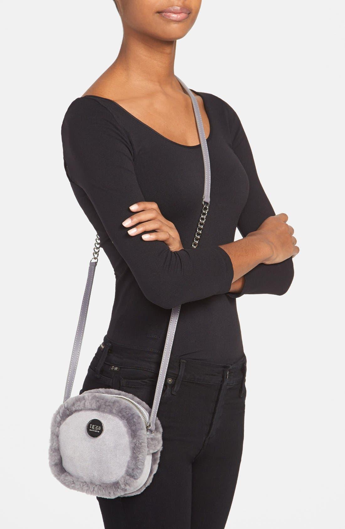 Alternate Image 4  - UGG® Australia 'Quinn' Crossbody Bag