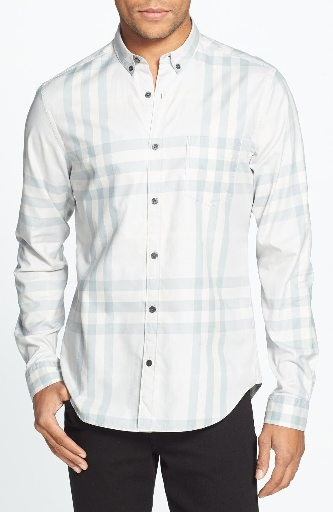 Alternate Image 1 Selected - Burberry Brit 'Niall' Check Sport Shirt