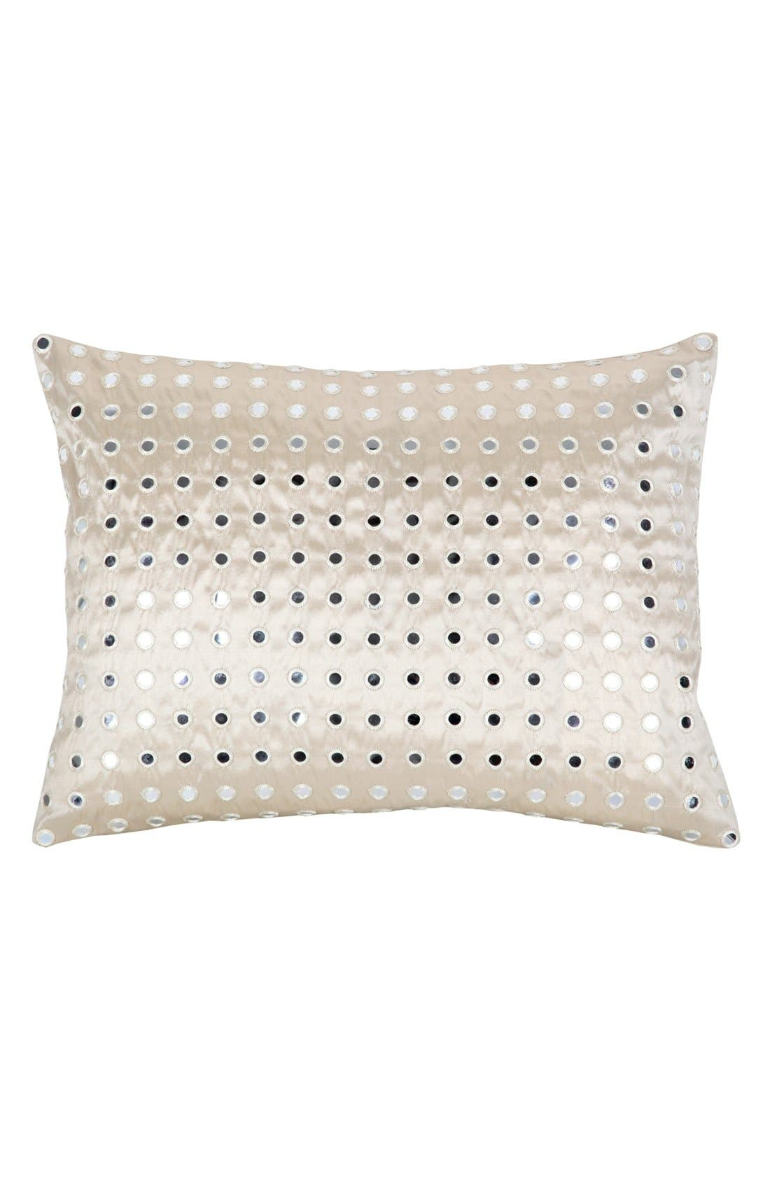 Alternate Image 1 Selected - Blissliving Home 'Aliyah' Silk Dupioni Pillow (Online Only)