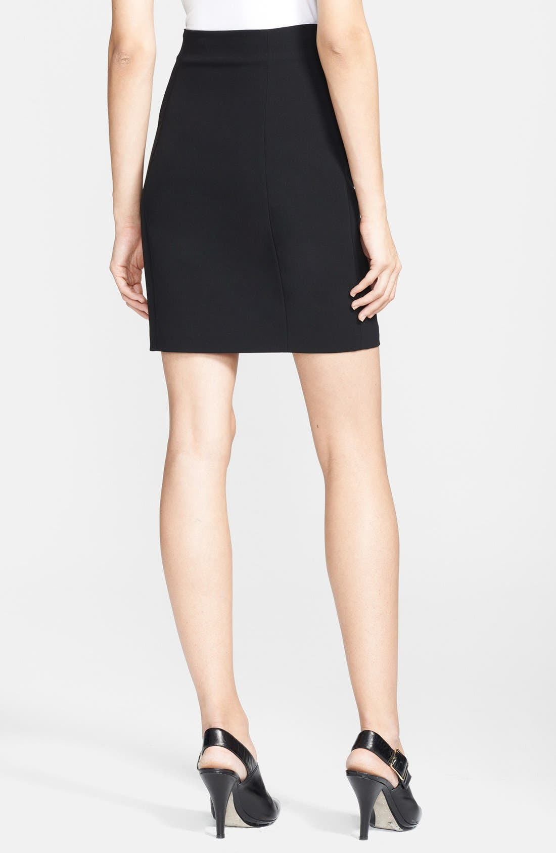 Alternate Image 2  - T by Alexander Wang Techno Pencil Skirt