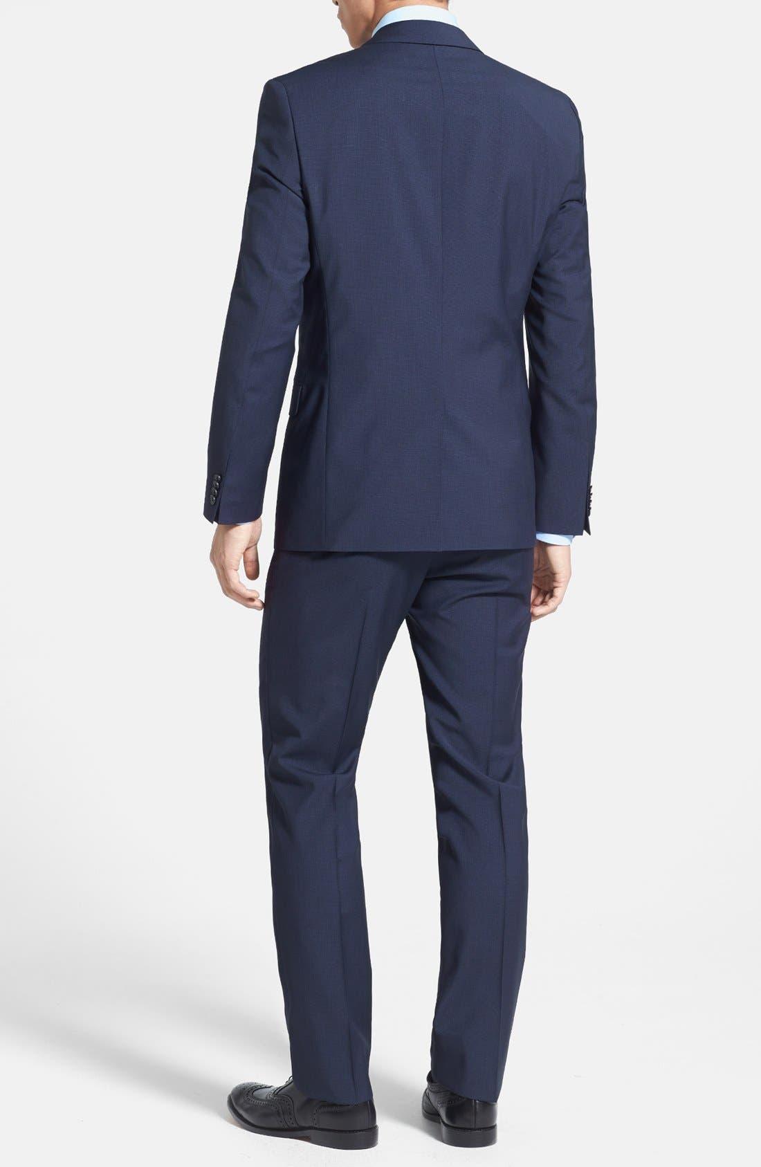 Alternate Image 2  - HUGO 'Astro/Hill' Extra Trim Fit Suit
