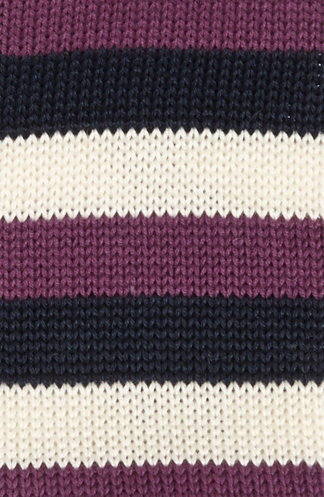 Alternate Image 2  - 1901 Knit Cotton Tie (Online Only)