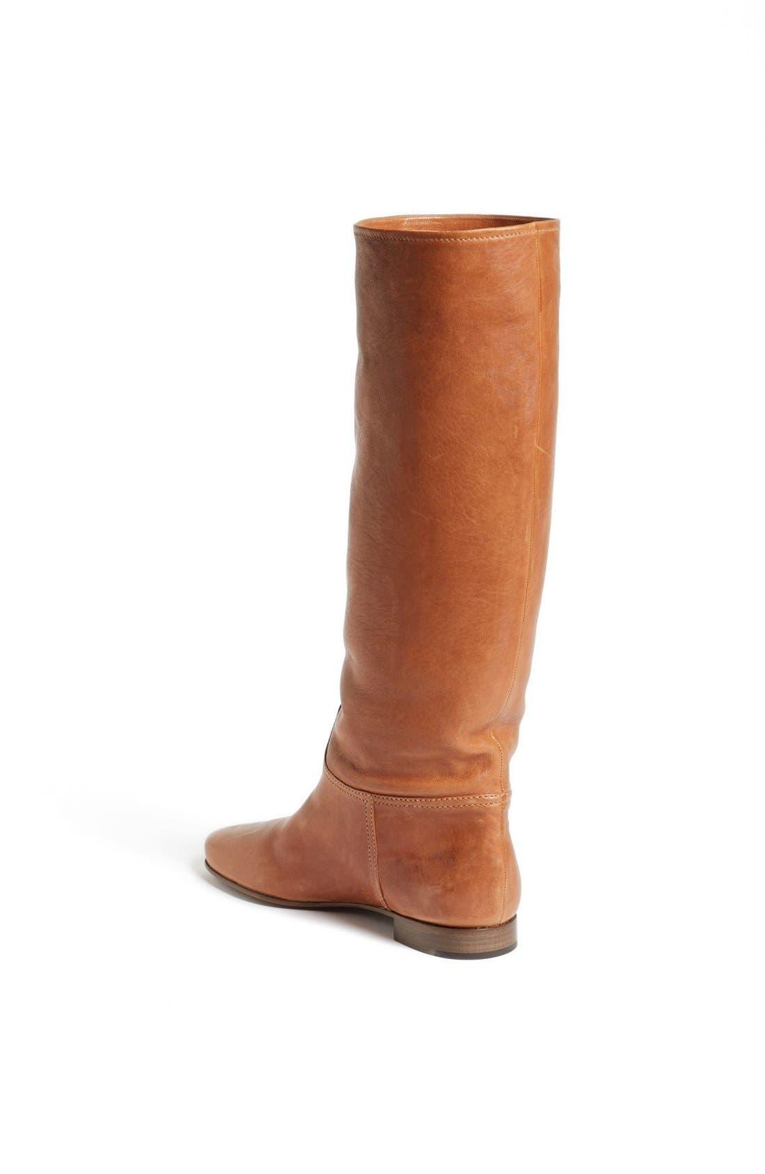 Alternate Image 2  - Prada Scrunchy Tall Flat Boot