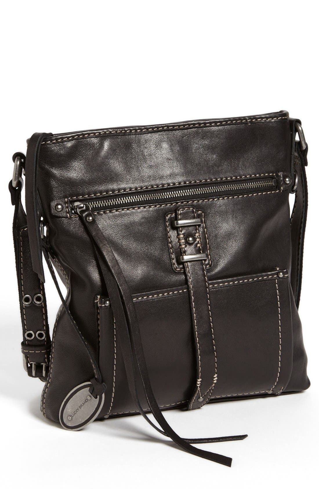 Alternate Image 1 Selected - Lucky Brand 'Large Ashley' Crossbody Bag