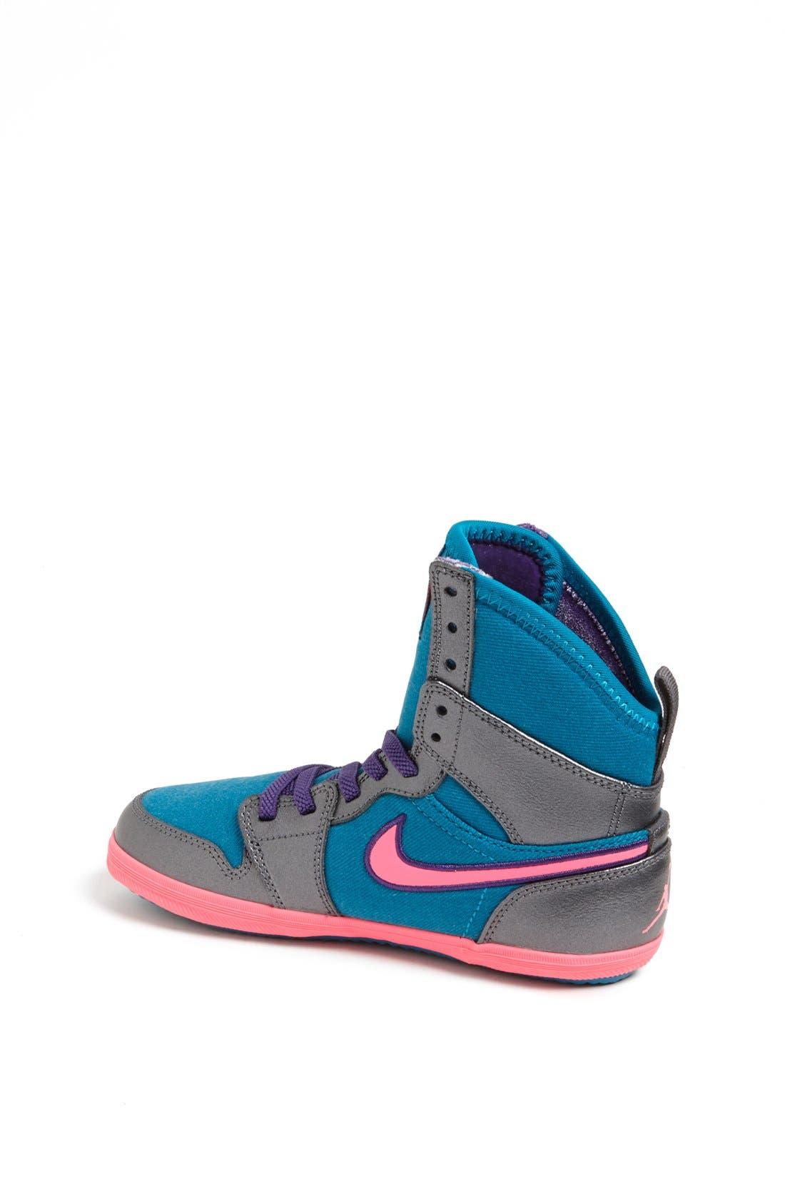 Alternate Image 2  - Nike 'Jordan 1 Skinny High' Sneaker (Toddler & Little Kid)
