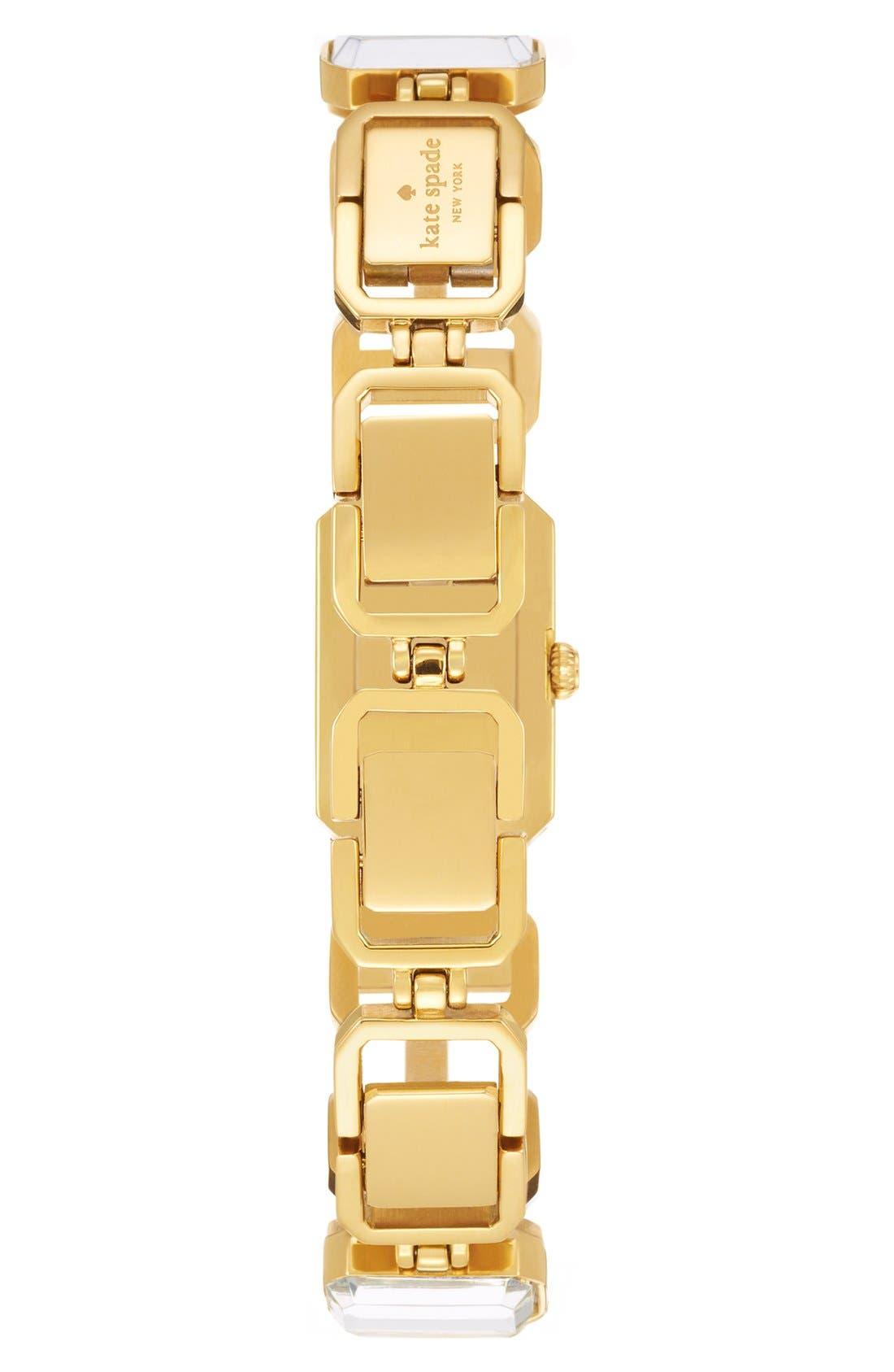 Alternate Image 2  - kate spade new york 'wythe' crystal bracelet watch, 10mm x 25mm