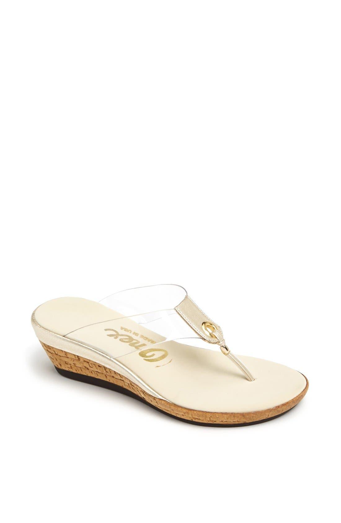Alternate Image 1 Selected - Onex 'Brucie' Wedge Sandal