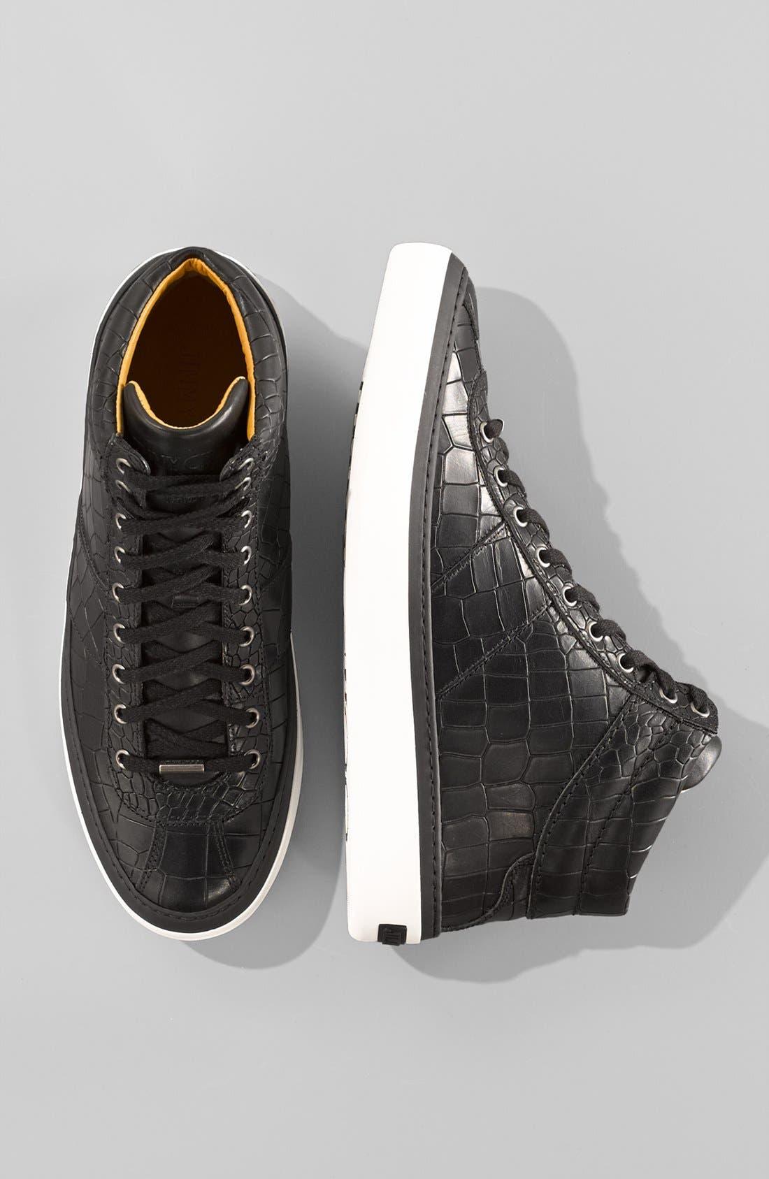 Alternate Image 5  - Jimmy Choo Belgravia High Top Sneaker