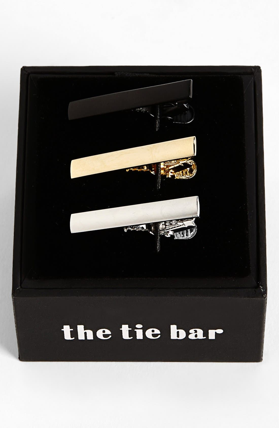 The Tie Bar Brass Tie Bar (3-Pack)