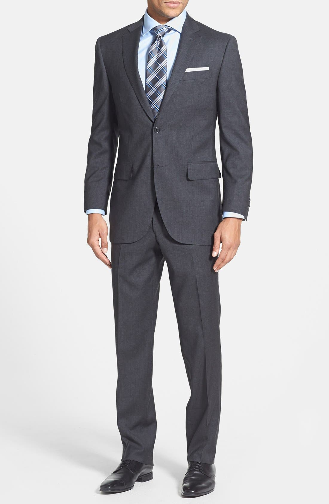 Alternate Image 1 Selected - Peter Millar Classic Fit Wool Suit