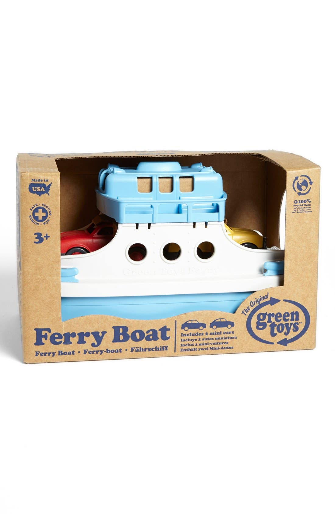 Alternate Image 2  - Green Toys Ferry Boat Toy