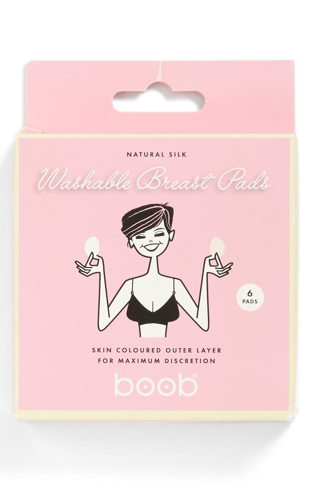 Washable Nursing Pads,                             Main thumbnail 1, color,                             White/ Skin