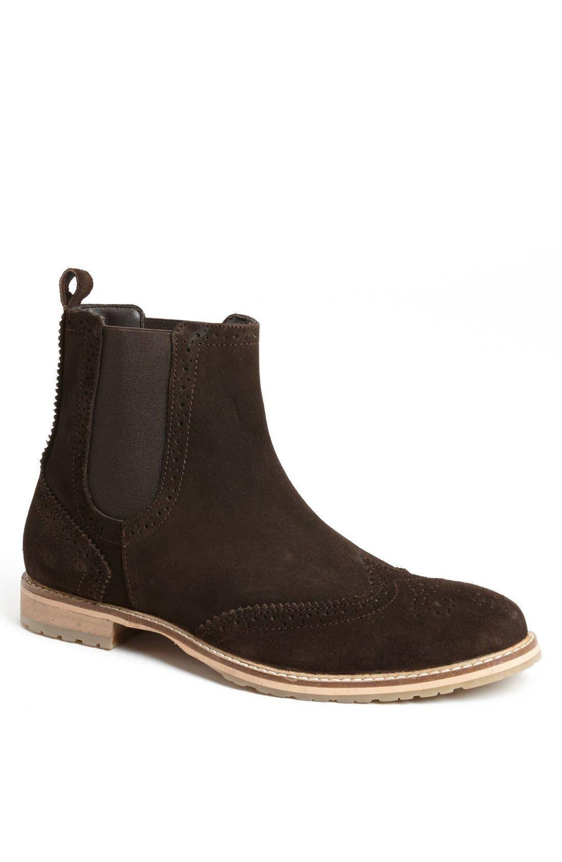 Alternate Image 1 Selected - Ben Sherman 'Bruno' Wingtip Chelsea Boot (Men)