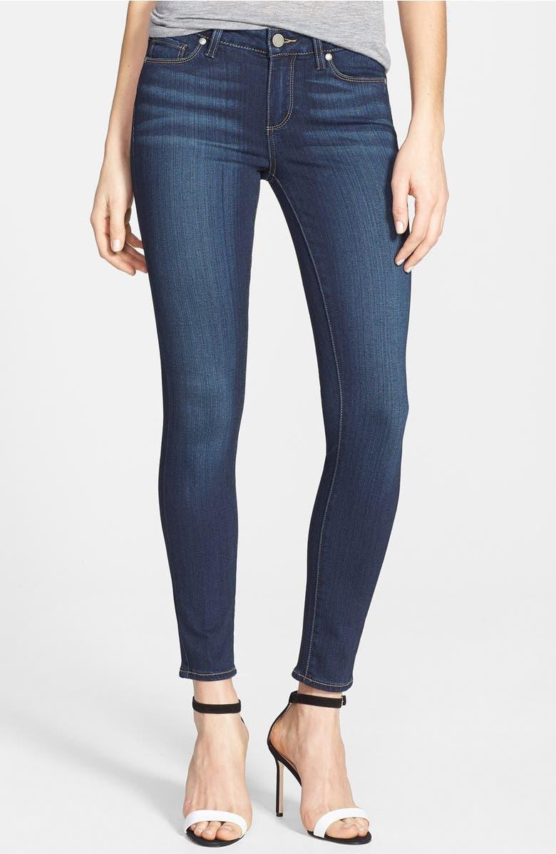 PAIGE Transcend - Verdugo Ankle Skinny Jeans (Nottingham) | Nordstrom