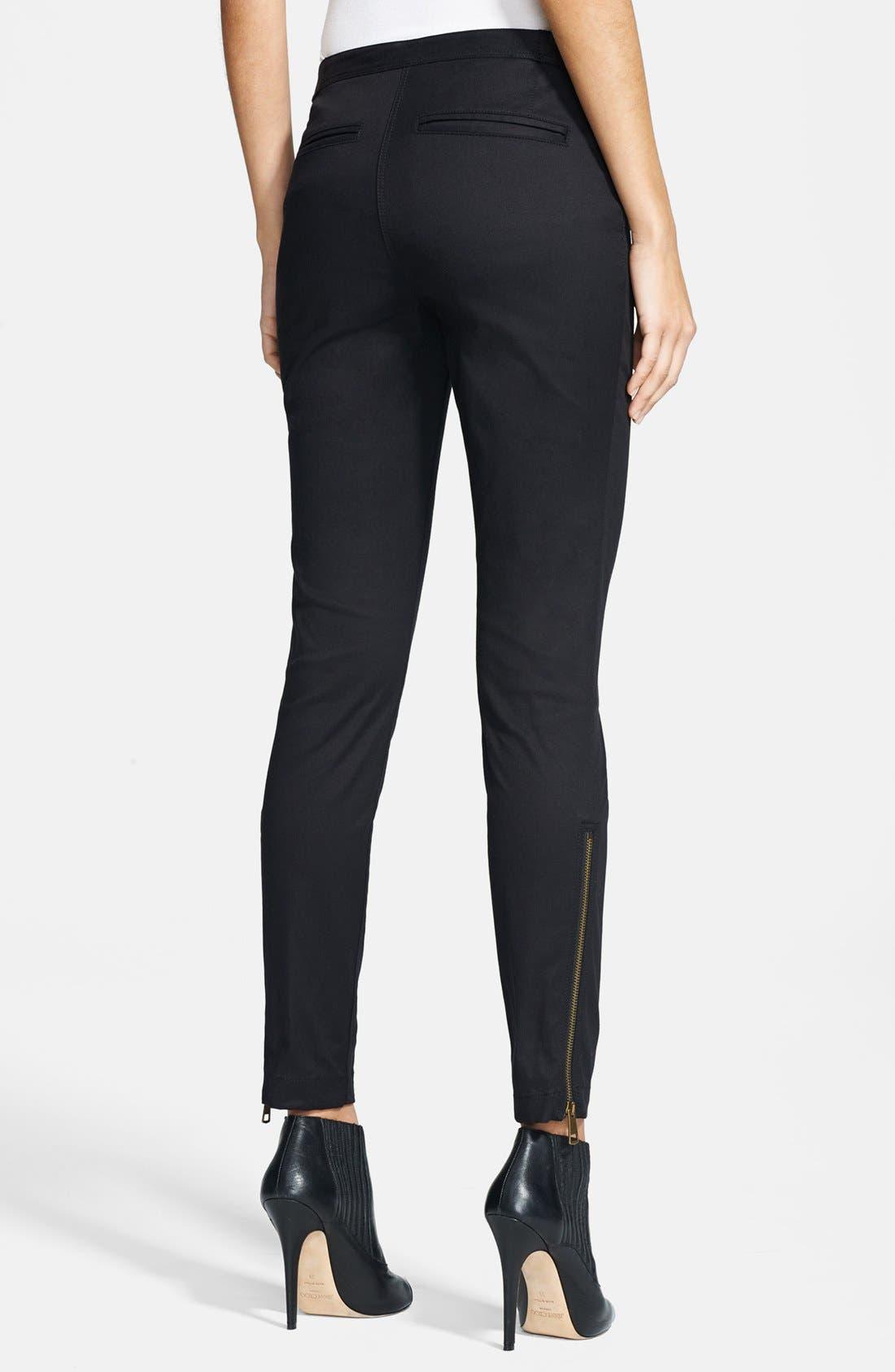 Alternate Image 2  - Burberry Brit 'Cawston' Skinny Fit Pants