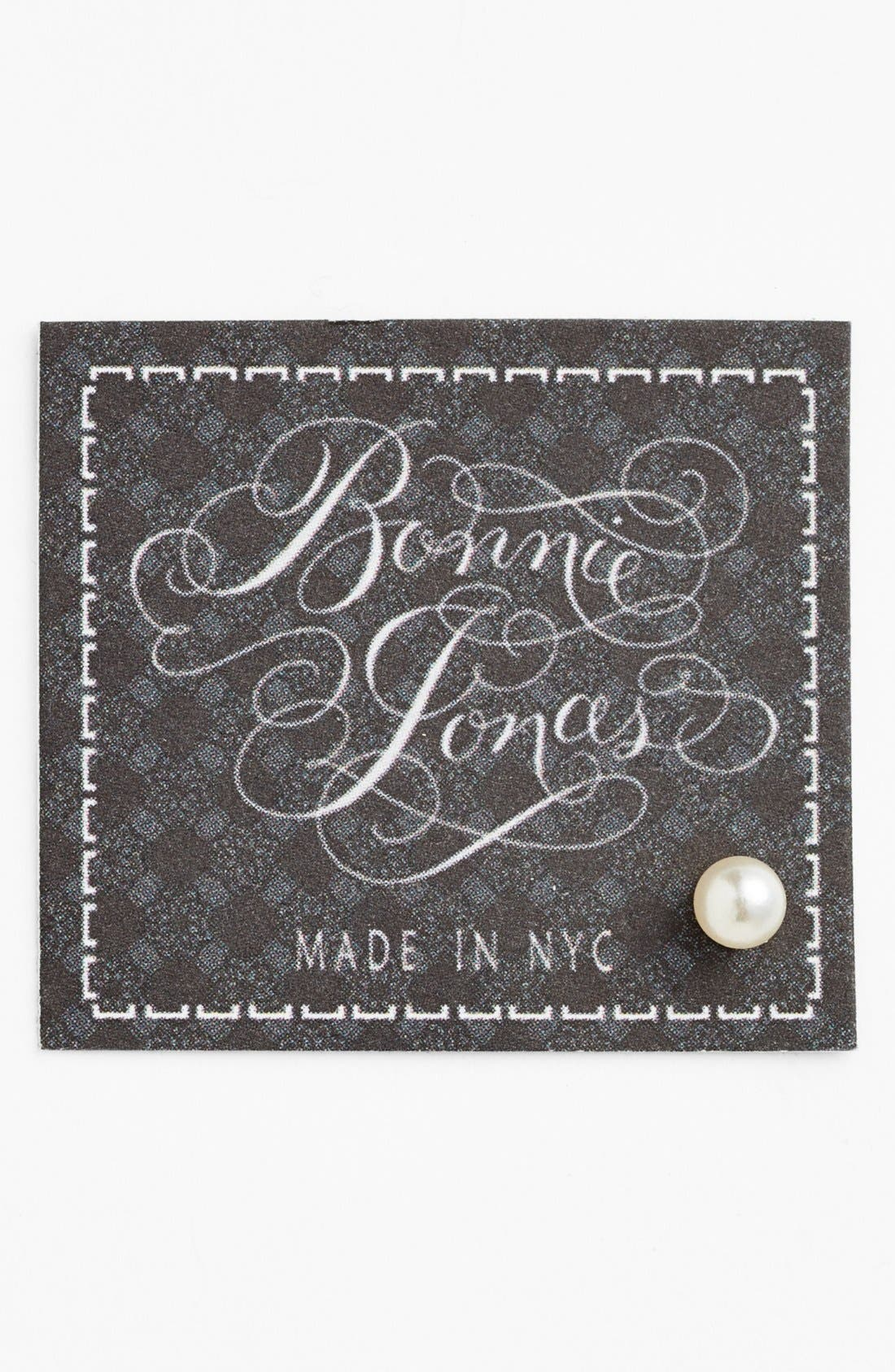 Alternate Image 1 Selected - Bonnie Jonas Faux Pearl Single Stud Earring