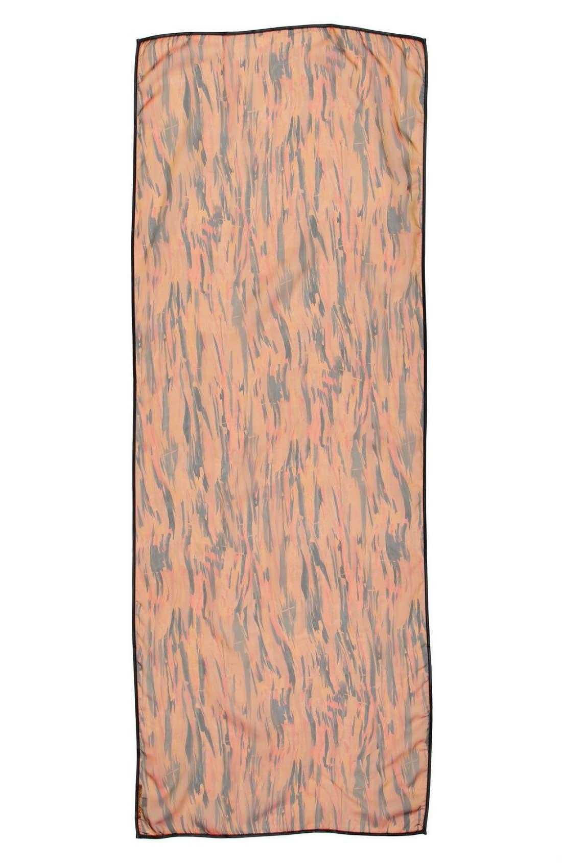Alternate Image 2  - Bernie of New York 'River' Silk Scarf